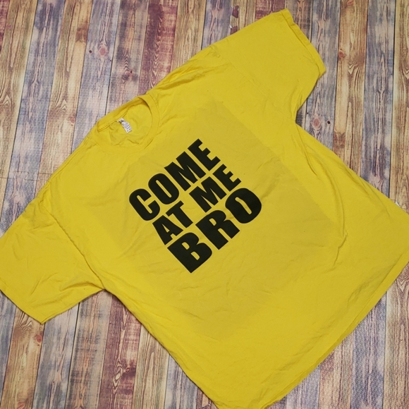 """Alstyle Other - ALSTYLE """"COME AT ME BRO"""" TEE SIZE 2XL"""